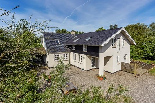 Villa på Skovsbovej i Svendborg - Mastefoto