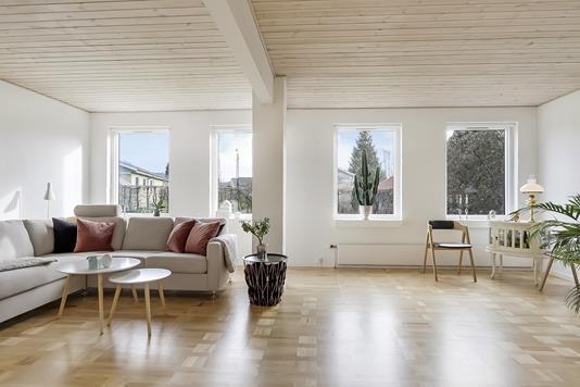 Villa på Bülowsvej i Svendborg - Stue