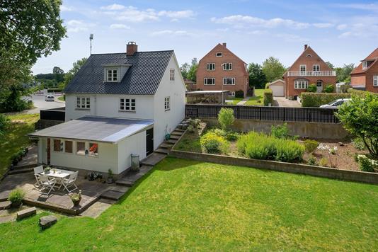 Villa på Brydevej i Svendborg - Set fra haven