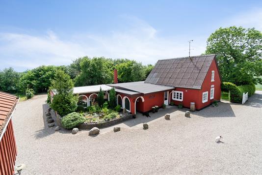 Villa på Hedegyden i Gudbjerg Sydfyn - Ejendommen