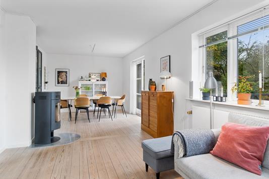 Villa på Nordre Ringvej i Stenstrup - Stue