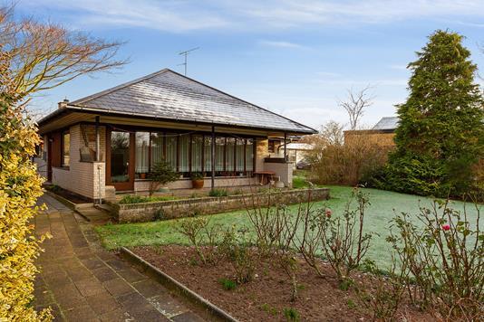 Villa på Vibevej i Svendborg - Set fra haven