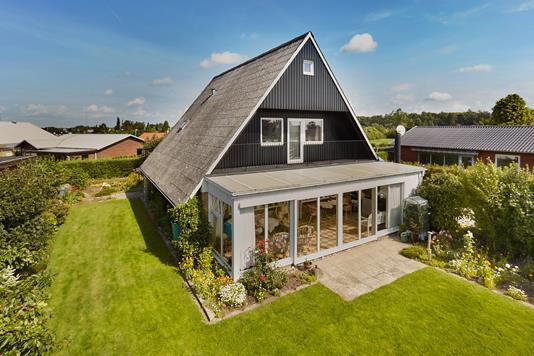 Villa på Lærkevej i Stenstrup - Mastefoto