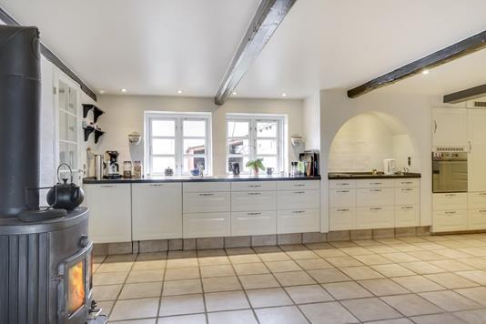 Villa på Filippavej i Vester Skerninge - Køkken
