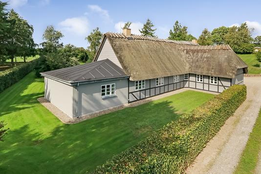 Villa på Gl. Dam i Hesselager - Ejendommen