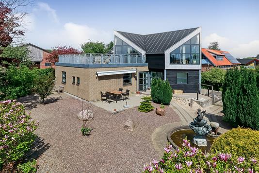 Villa på Åbyskovtoften i Skårup Fyn - Terrasse