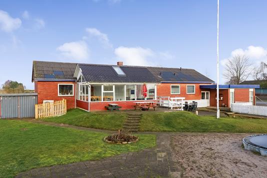 Villa på Sognevej i Oure - Have