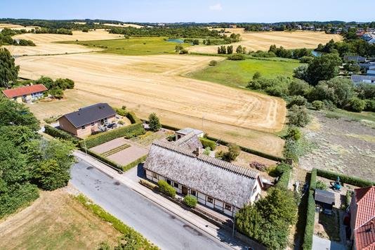 Villa på Nordgade i Vester Skerninge - Luftfoto