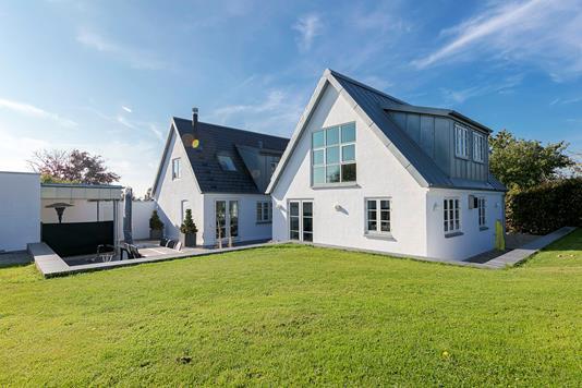 Villa på Åbyskovvej i Skårup Fyn - Udendørs