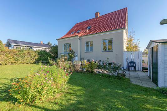 Villa på Skårup Vestergade i Skårup Fyn - Udendørs