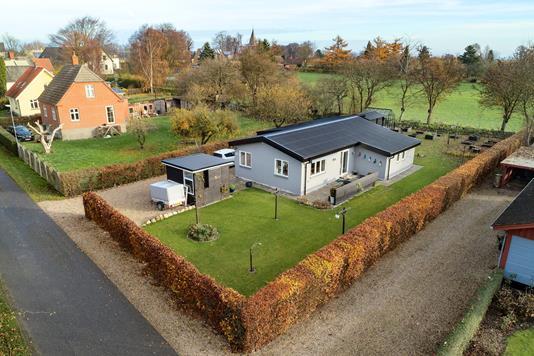 Villa på Egemosevej i Vejstrup - Luftfoto