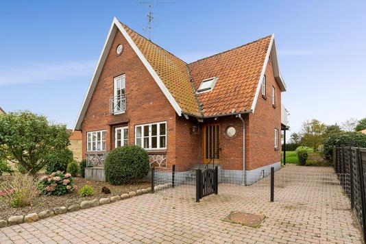 Villa på Assensvej i Stenstrup - Indgang