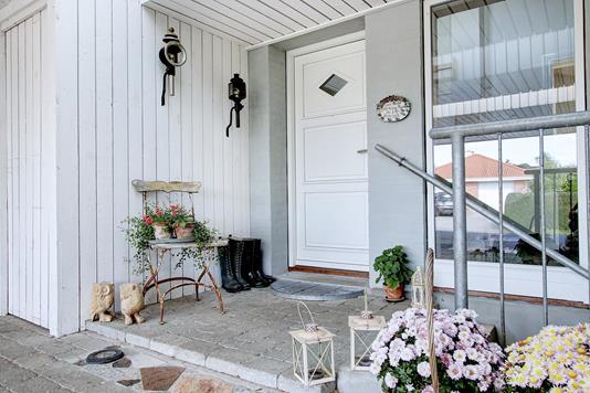 Villa på Fjordbakken i Jyllinge - Indgang