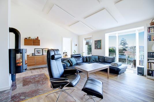 Villa på Hagenæsdal i Jyllinge - Stue