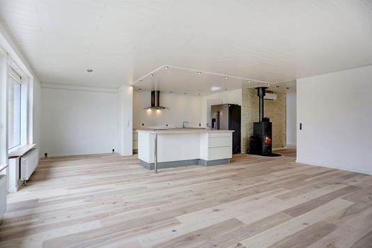 Villa på Marsvej i Jyllinge - Køkken alrum