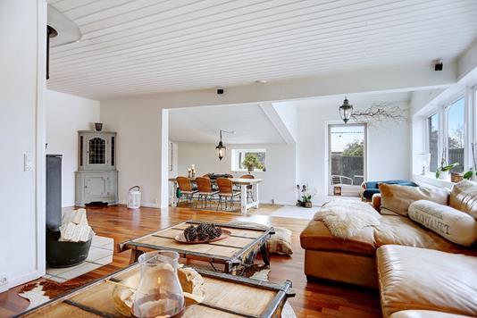 Villa på Spurvevej i Jyllinge - Stue