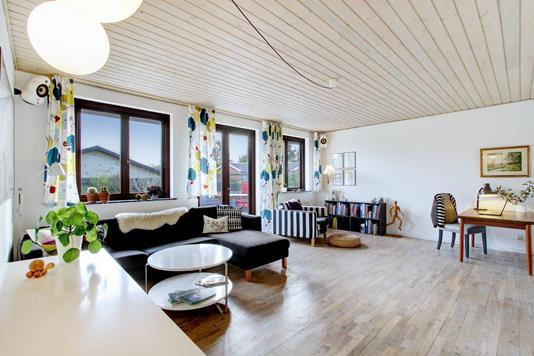 Villa på Møllevej i Jyllinge - Stue