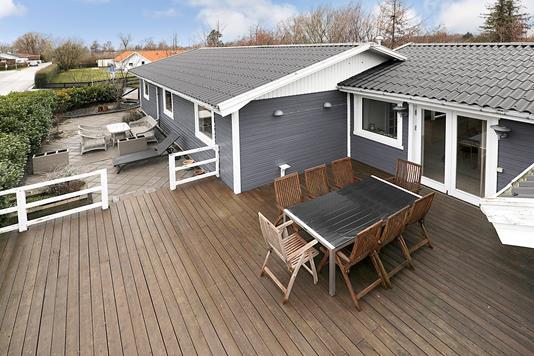 Villa på Engblommevej i Jyllinge - Terrasse
