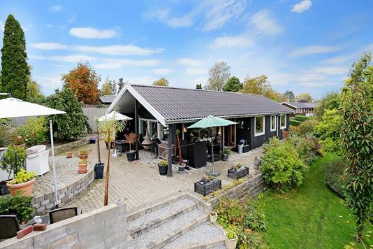 Villa på Fjordbakken i Jyllinge - Ejendommen