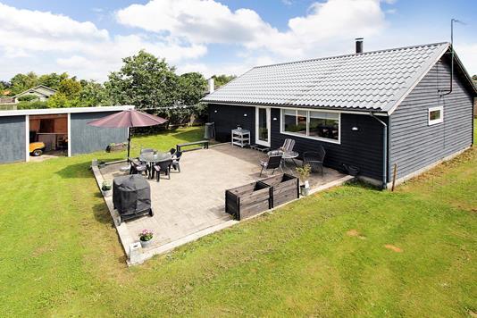 Villa på Olesvej i Jyllinge - Terrasse
