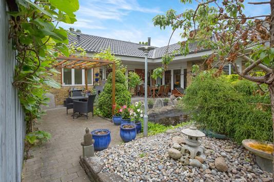 Villa på Vibeholms Vænge i Ishøj - Terrasse