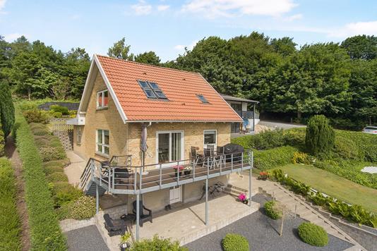 Villa på Enghavevej i Hobro - Ejendommen