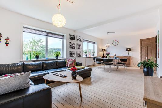 Villa på Solvej i Hobro - Stue