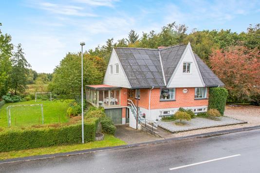 Villa på Snæbumvej i Hobro - Ejendommen
