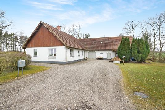 Villa på Oplevvej i Hobro - Ejendommen