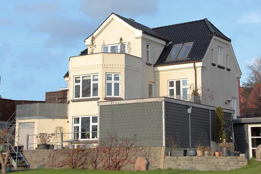 Villa på Enghavevej i Hobro - Facade