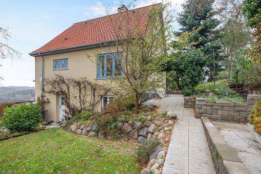 Villa på Vester Altan i Hobro - Ejendommen