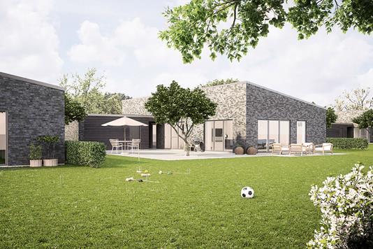 Villa på Kirketerp i Hobro - Ejendommen