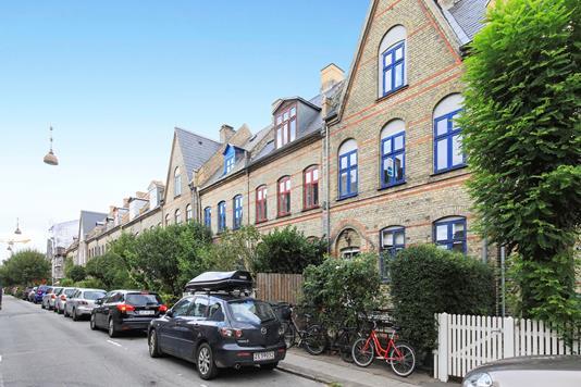 Ejerlejlighed på Carstensgade i København V - Ejendommen