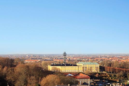 Andelsbolig på Rahbeks Alle i København V - Udsigt