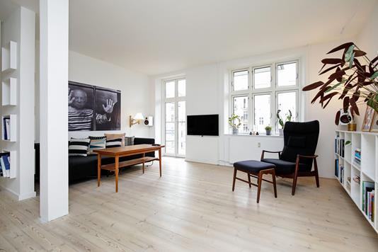 Ejerlejlighed på Henrik Ibsens Vej i Frederiksberg C - Stue