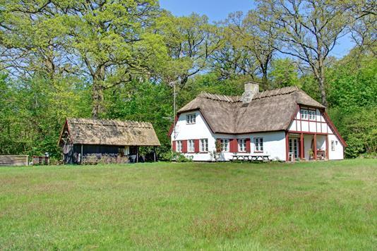 Villa på Toftemosevej i Hornbæk - Ejendommen