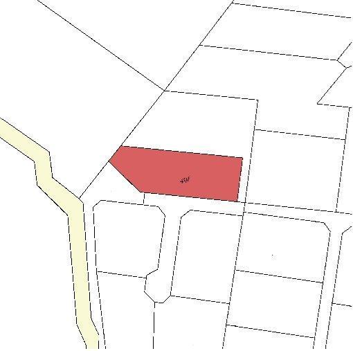 Fritidsgrund på Grænsestien i Hornbæk - Plantegning
