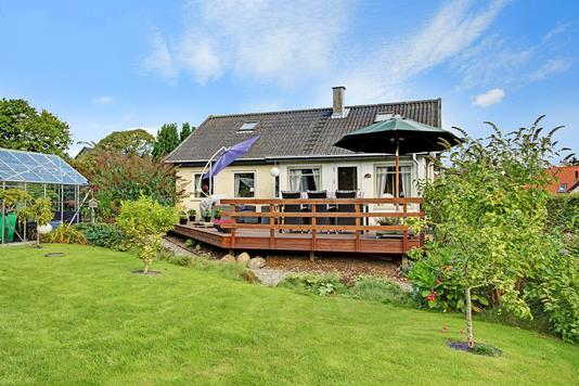 Villa på Ellekildehavevej i Ålsgårde - Terrasse