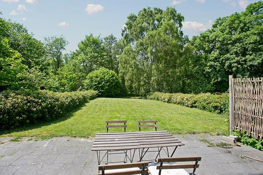 Villa på Gl Havreholmvej i Hornbæk - Terrasse