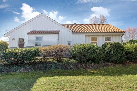Villa på Solvej i Hornbæk - Ejendommen