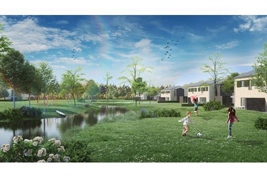 Villa på Østerbækvej i Hornbæk - Set fra haven