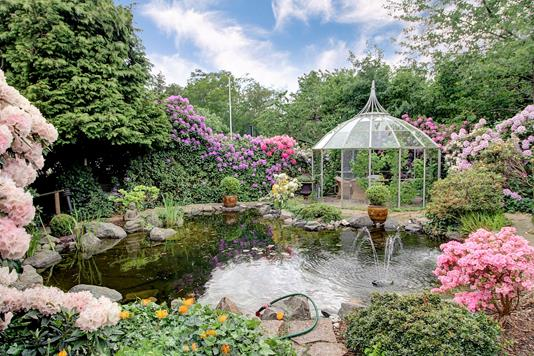 Villa på Østre Alle i Gilleleje - Have