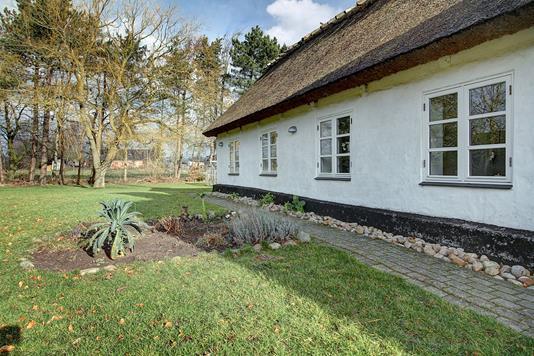 Villa på Rishavevej i Græsted - Ejendommen