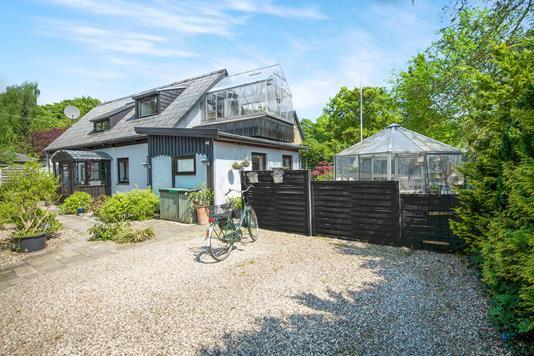 Villa på Struensee Alle i Holte - Facadeforslag