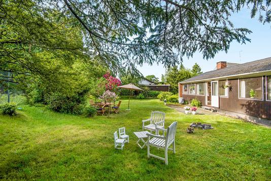 Villa på Skovfryd i Kongens Lyngby - Have