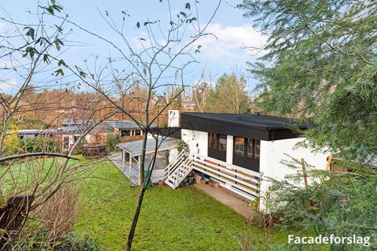 Villa på Lundtoftevej i Kongens Lyngby - Facadeforslag