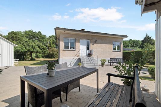 Villa på Danmarksvej i Kongens Lyngby - Terrasse