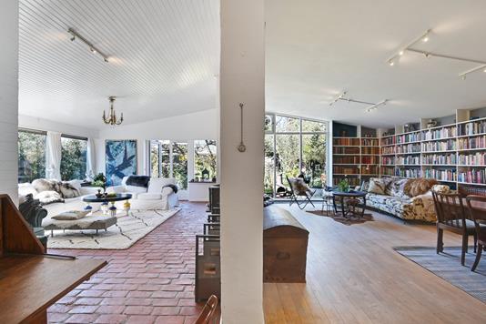 Villa på Langs Hegnet i Kongens Lyngby - Stue