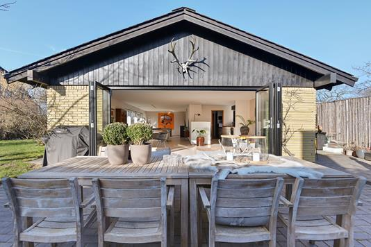 Villa på Hjortekærsvej i Kongens Lyngby - Terrasse