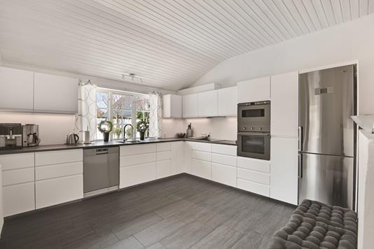 Villa på Lundtoftevej i Kongens Lyngby - Køkken